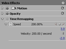 how to allow time remapping premiere